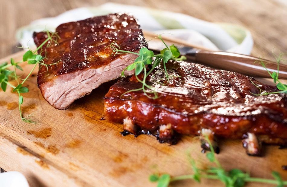 Caldo de mandioca com calabresa e bacon